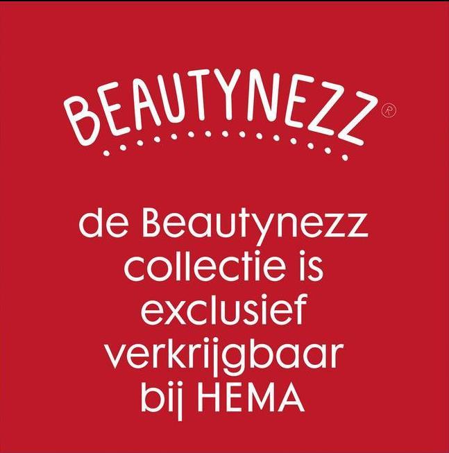 BEAUTYNEZZ R de Beautynezz collectie is exclusief verkrijgbaar bij HEMA