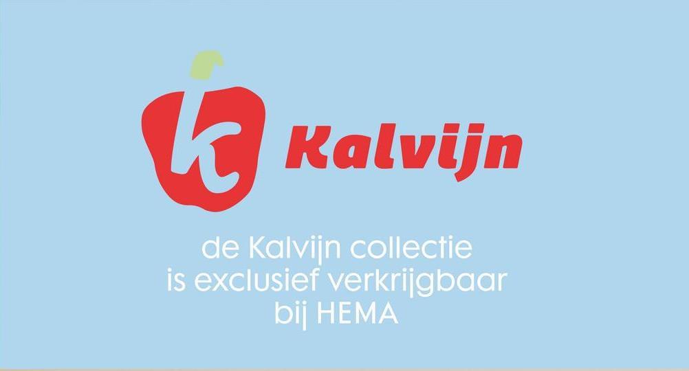 Kalvijn de Kalvijn collectie is exclusief verkrijgbaar bij HEMA