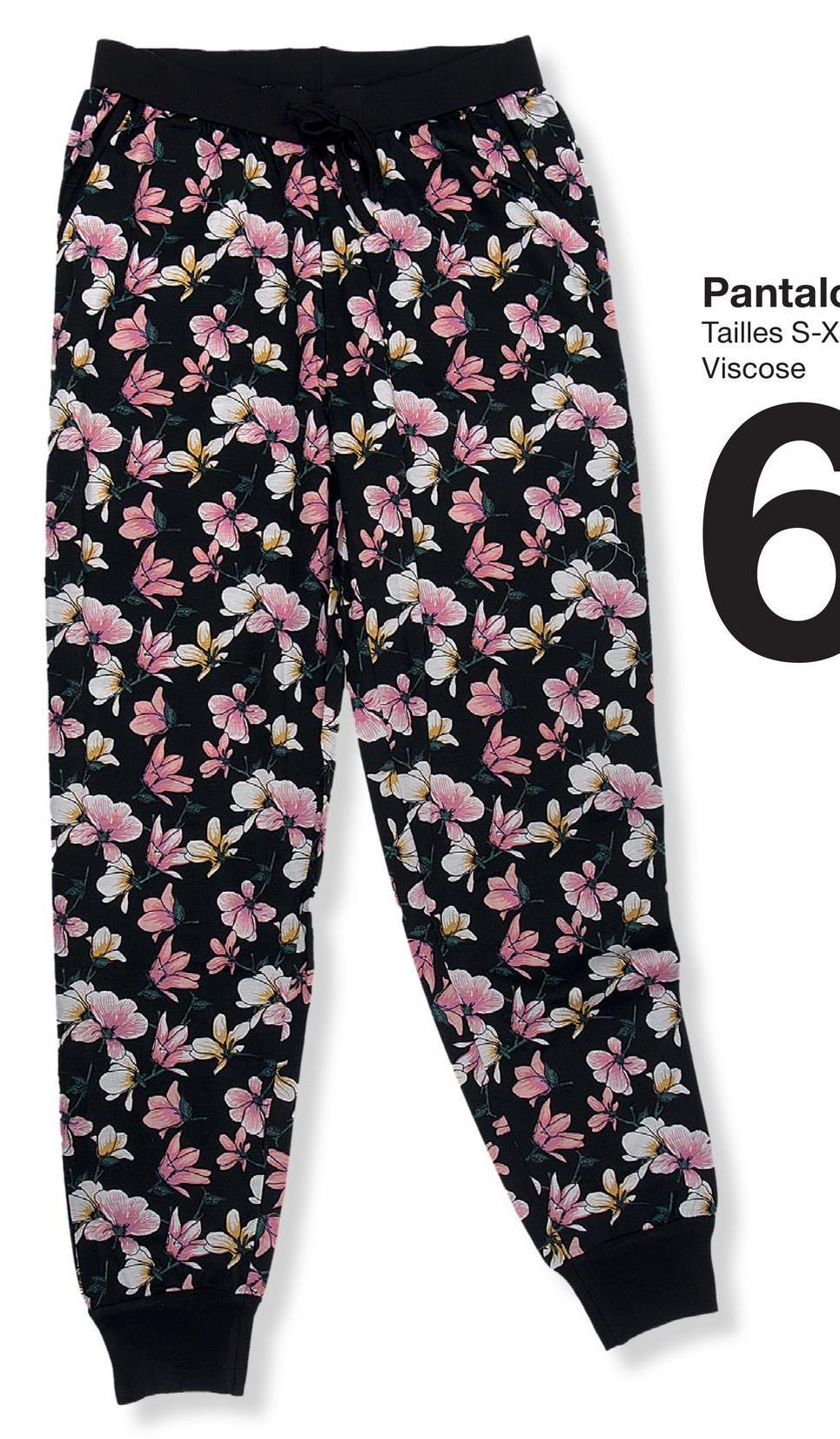 Pantalo Tailles S-X Viscose 6