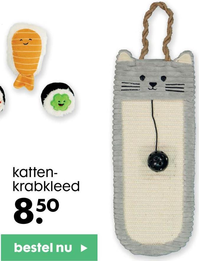 katten- krabkleed 850 bestel nu