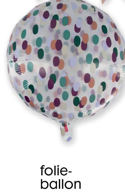 folie- ballon