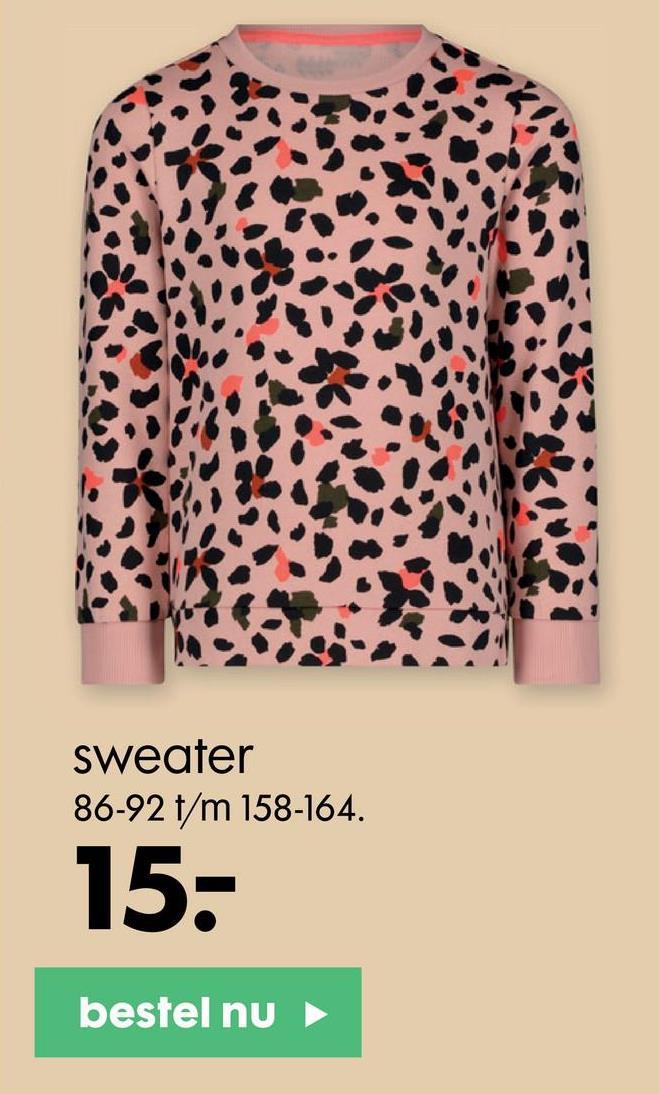 sweater 86-92 t/m 158-164. 15- bestel nu