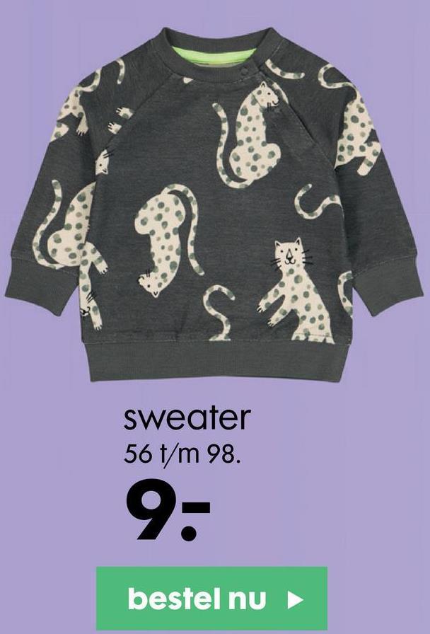 sweater 56 t/m 98. 9- bestel nu