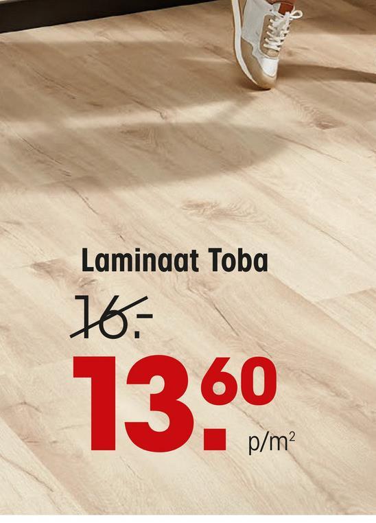 Laminaat Toba Naturel Eiken Laminaat met naturel eiken kleur. 7 mm dik. 126,1x19,2 cm (lxb). Pakinhoud 10 stuks.