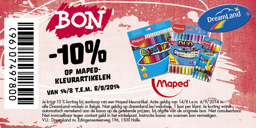 -10% op Maped Kleurartikelen