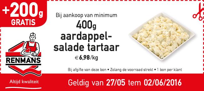 aardappel salade tartaar