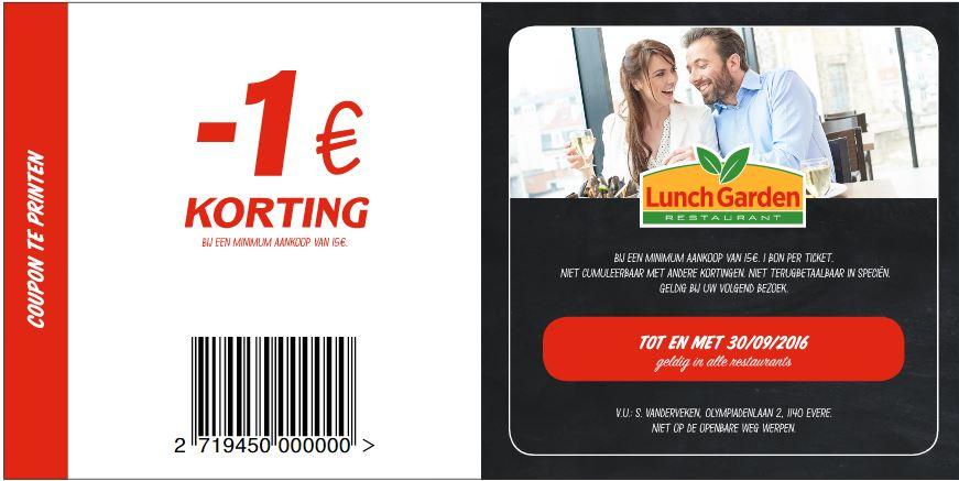 1€ korting