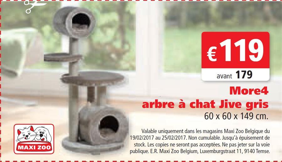 Arbre chat pour 119€