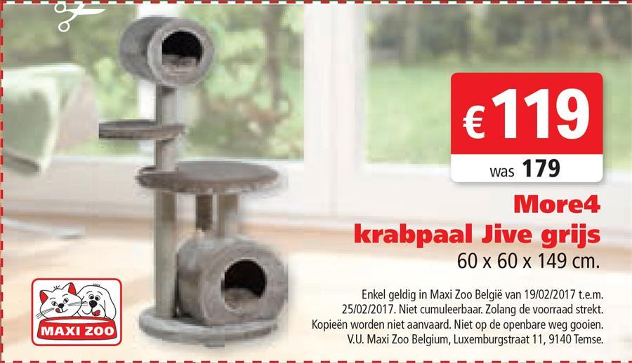 Krabpaal voor 119€