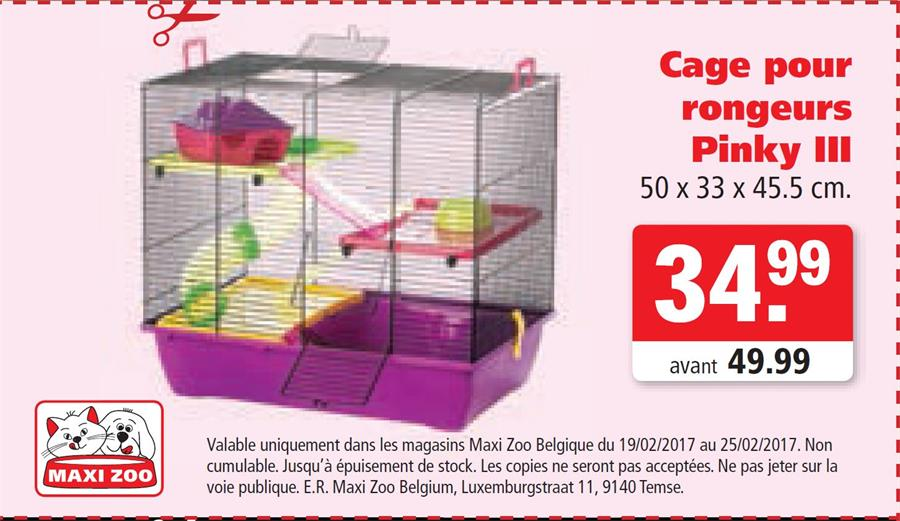 Cage pour rongeurs 34,99€