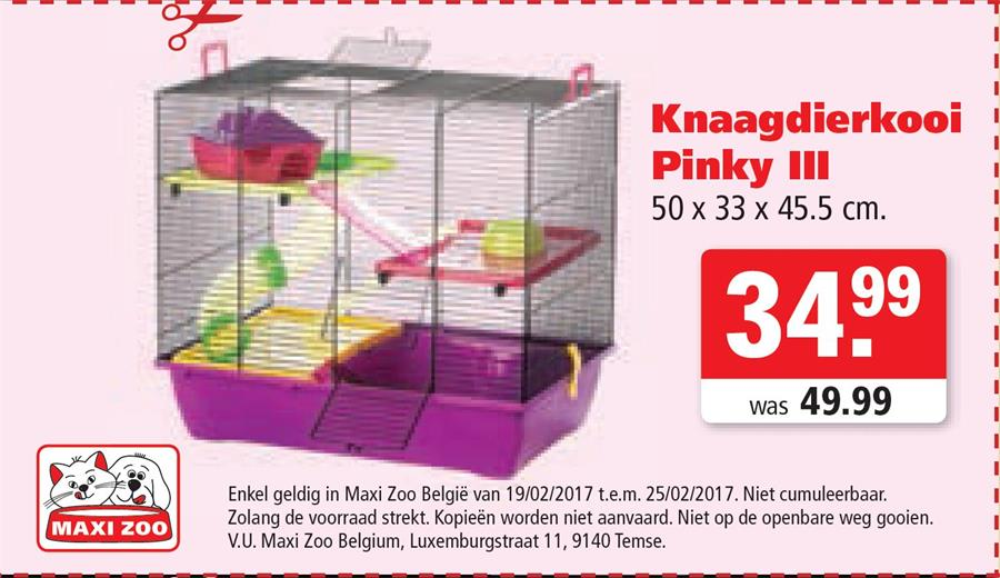 Knaagdierkooi voor 34,99€