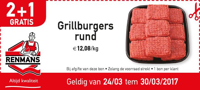 2+1 Grillburgers Rund
