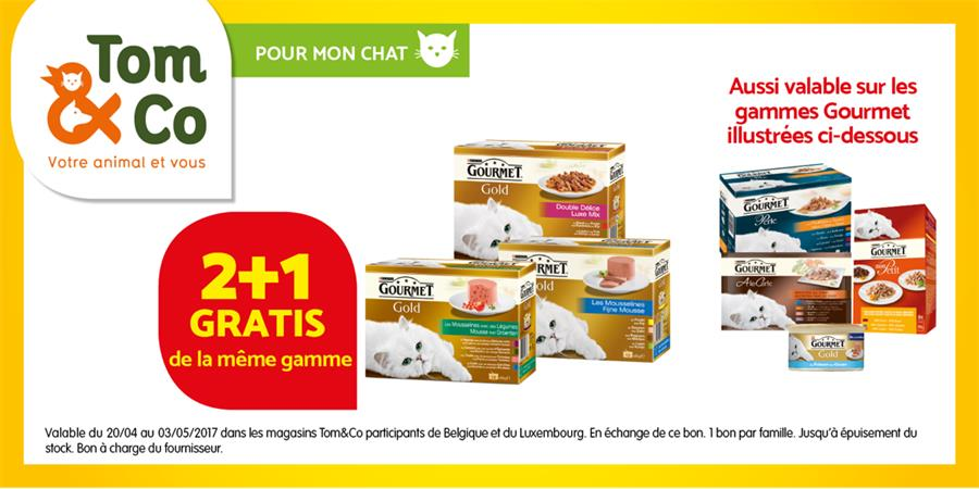 Gourmet 2+1 gratuit