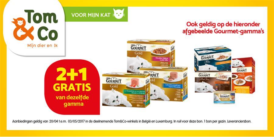 Gourmet 2+1 gratis