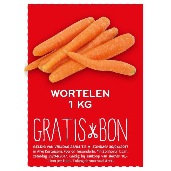 gratis bon wortelen
