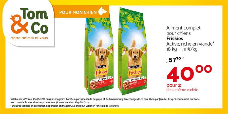 Friskies pour 40€