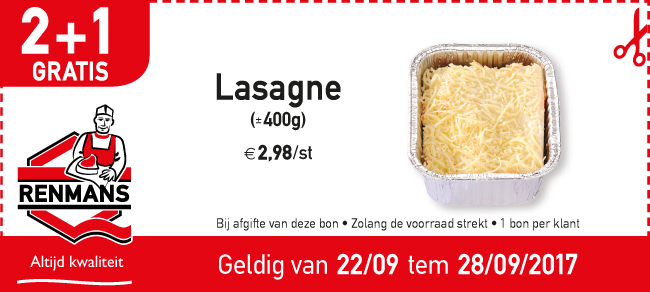 2+1 lasagne
