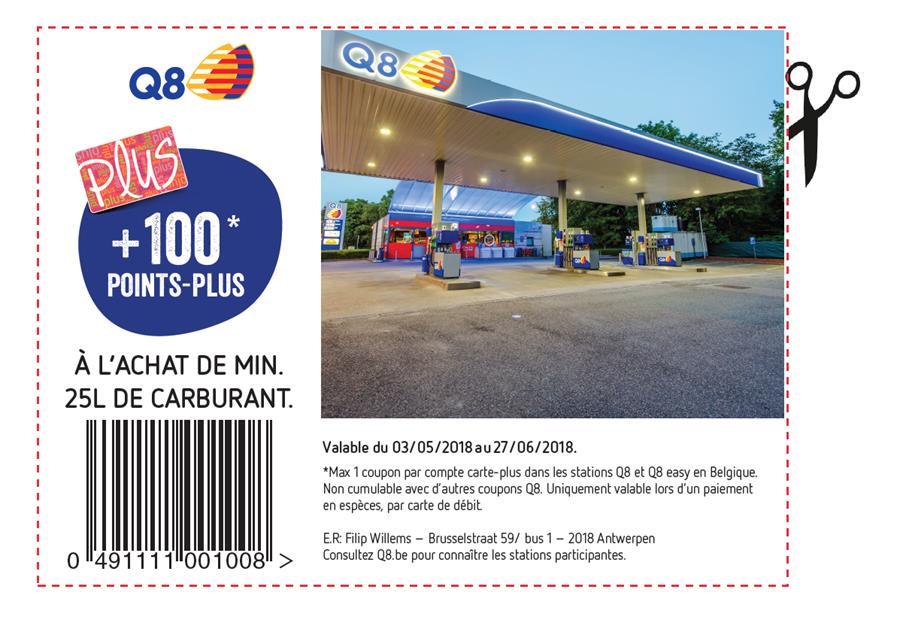 coupon delhaize q8
